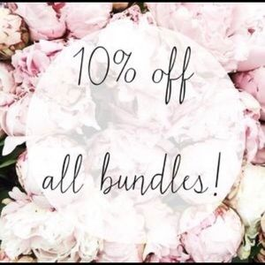 Other - 10% off all bundles 2 or more